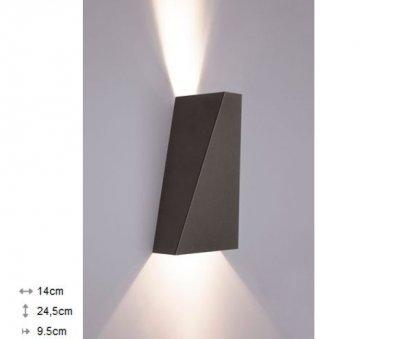 Світильник настінний Nowodvorski NARWIK графіт 9703