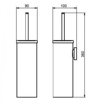 Йоржик туалетний Q-tap Liberty ORO 1150