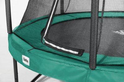 Батут Salta Comfort Edition круглий 427 см Green (5078G)