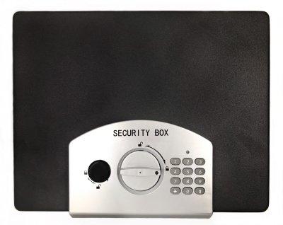 Сейф портативный электронный кодовый 325х255х125 мм