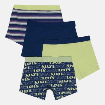 Труси-шорти Levi`s 100002748-001 4 шт. Blue/Lime
