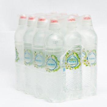 Упаковка артезианской питьевой воды Росяна спорт, 0.5л х 12