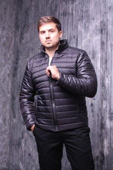 Куртка ZIBSTUDIO полоса комбинированная Чёрная