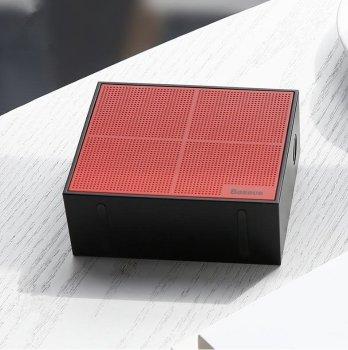 Портативний спікер Baseus Encok Music-Cube Wireless Speaker E05 Black