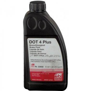 Жидкость тормозная Febi DOT4 Plus 1л