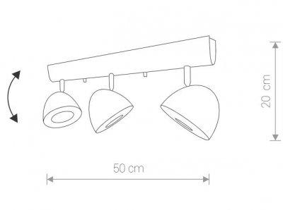 Світильник Nowodvorski VESPA 9592 білий