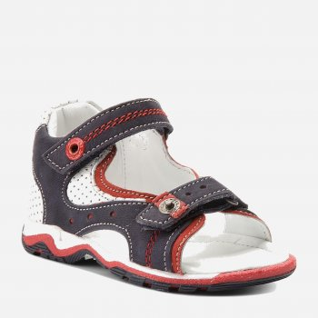 Сандалии кожаные Lasocki Kids CI12-2566-15 Синие