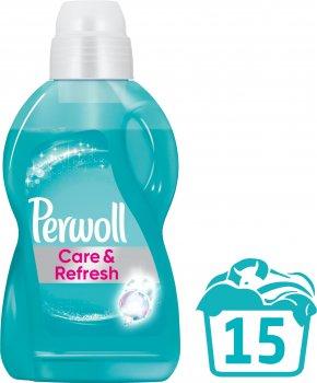 Средство для деликатной стирки Perwoll Уход и освежающий эффект 0.9 л (9000101335705)