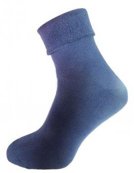 Носки мужские Нова пара махровые без резинки 442-386 средняя высота темно-синие