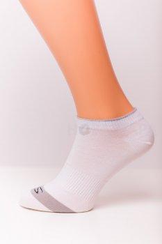 Носки Нова пара 460-301 укороченная высота спорт белые