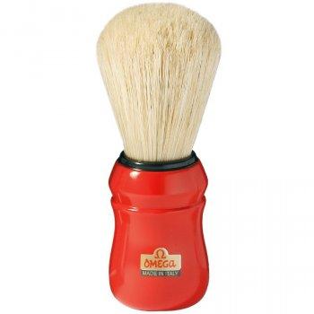 Помазок для гоління Omega 10049 (Червоний)