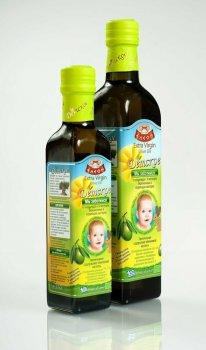 Грецьке дитяче оливкове масло NUTRIA BABY Extra Virgin Eleon, 500мл с/б
