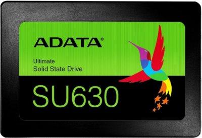 "Накопичувач SSD 480Gb A-Data Ultimate SU630, SATA3, 2.5"", 3D QLC, 520/450 MB/s (ASU630SS-480GQ-R)"