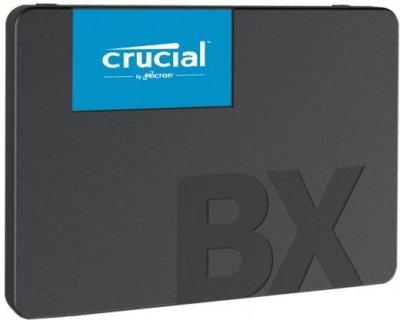 "Накопичувач SSD 120Gb Crucial BX500, SATA3, 2.5"", TLC 3D NAND, 540/500 MB/s (CT120BX500SSD1)"