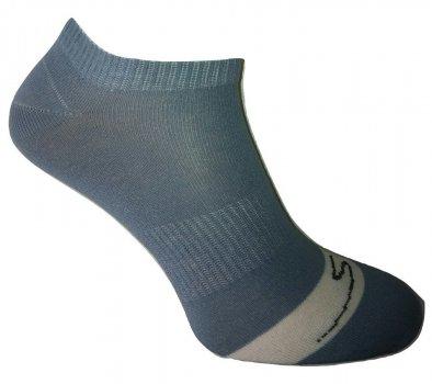 Носки Нова пара спорт 460-395 укороченная высота резинка на стопе цвет-джинс