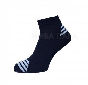 Носки Нова пара 463-386 короткая высота спорт т.синие