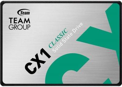 "Team CX1 960GB 2.5"" SATAIII 3D TLC (T253X5960G0C101) (JN63T253X5960G0C101)"