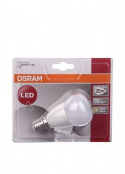 Лампочка P25 E14 OSRAM білий PM1-10990