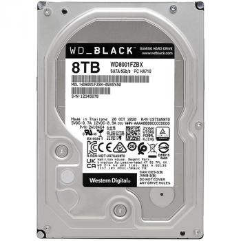 Жесткий диск 3,5″ 8TB WD BLACK (WD8001FZBX)