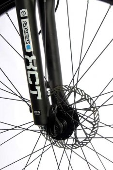 """Велосипед складаний алюмінієвий Riot на литих дисках 26"""" / рама 17"""" біло-синій (MALSVELD2617BG)"""