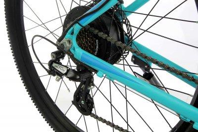"""Велосипед складаний алюмінієвий Make на литих дисках 26"""" / рама 17"""" сіро-червоний (MALSVELD2617SK)"""