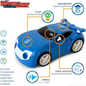Ігровий набір WatchCar Блювілл Active інтерактивна іграшка Вотчкар