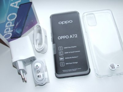 Смартфон Oppo A72 4/128Gb CPH2067 Black