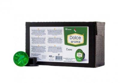 Кофе в капсулах Dolce Aroma Crema для систем Lavazza BLUE