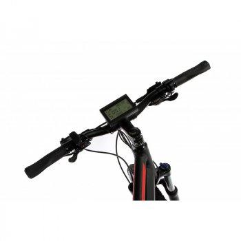 """Жіночий електровелосипед E-motion City GT 27,5"""" 36v 12Ah 500w / рама 19"""" чорно-червоний (EMCGT275CKM)"""