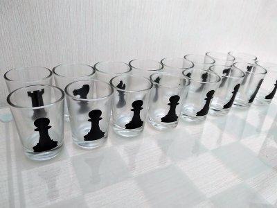 """Алко игра """"Пьяные шахматы"""" М со стопками"""