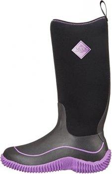 Сапоги Muck Boots резиновые с теплой подкладкой Hale черный,фиолетовый HAW500