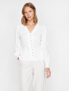 Блузка Koton 0KAK66784IW-001 Off White