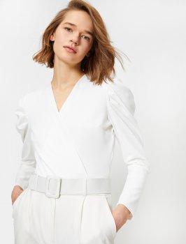 Блузка Koton 0YAK34547FK-000 White