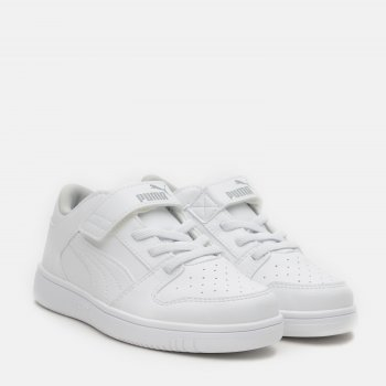 Кеды Puma Pm Rebound Layup Lo SL V PS 37049203 White-High Rise