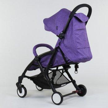 Детская коляска прогулка Joy W 2277 легкая футкавер Фиолетовая