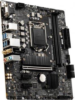 Материнська плата MSI B560M Pro Wi-Fi (s1200, Intel B560, PCI-Ex16)