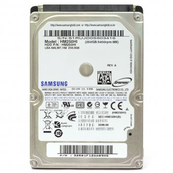 Жорсткий диск Samsung Spinpoint HM250HI 250GB Б/У