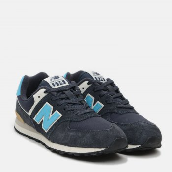 Кроссовки New Balance GC574MS2 Синие с голубым