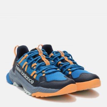 Кроссовки New Balance GESHAMW Синие с оранжевым