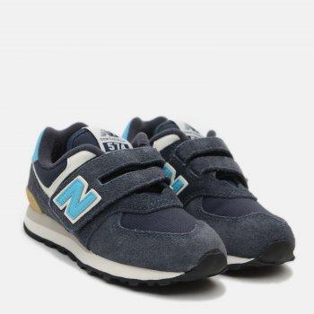 Кроссовки New Balance PV574MS2 Синие с голубым