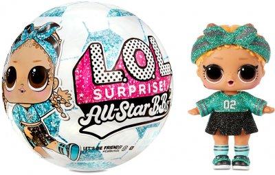 Игровой набор с куклой L.O.L. SURPRISE! серии All-Star B.B.s S3 - Футболистки в ассортименте (572671)