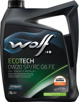 Моторна олива Wolf EcoTech 0W20 SP/RC G6 FE 5 л (1047261)