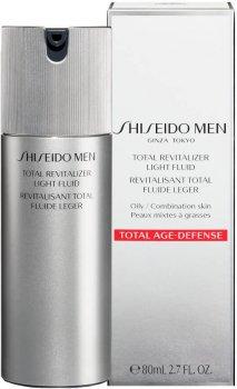 Флюид для лица Shiseido Men Total Revitalizer Light Fluid Очищающий 80 мл (729238151055)