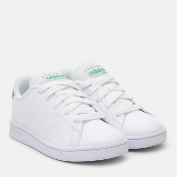 Кеди Adidas Advantage K EF0213 Ftwwht/Green/Gretwo