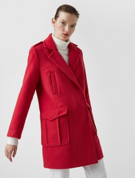 Пальто Koton 8YAK06302IW-909 Pink