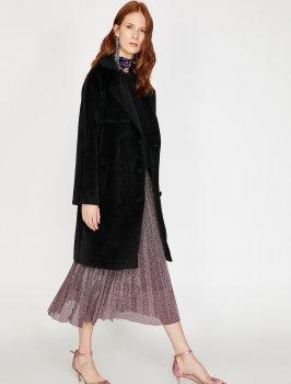 Пальто Koton 9KAK06241EW-999 Black