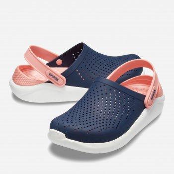 Сабо Crocs Women's LiteRide Clog 204592-4JG Темно-синие