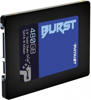 "Накопичувач SSD 480GB Patriot Burst 2.5"" SATAIII TLC (PBU480GS25SSDR)"