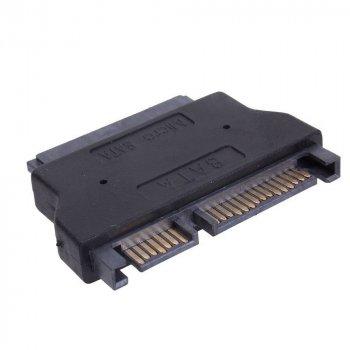 Переходник SATA на Slim SATA, Adapter для SSD, привода ODD и HDD диска (A-MINI SATA 7+6)