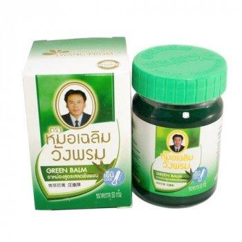 Бальзам WANG PROM Green Balm зеленый охлаждающий 50мл